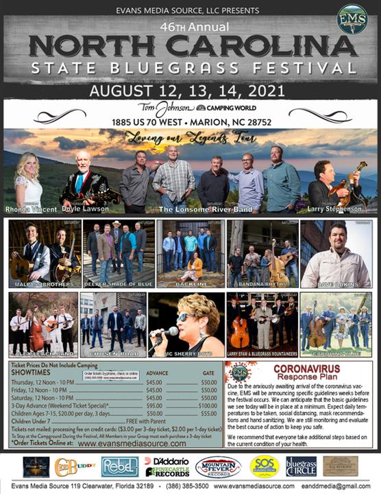 NC State Bluegrass Festival