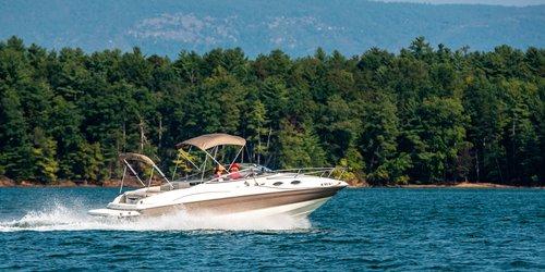 Lake James boating fall