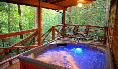 springhousehot tub