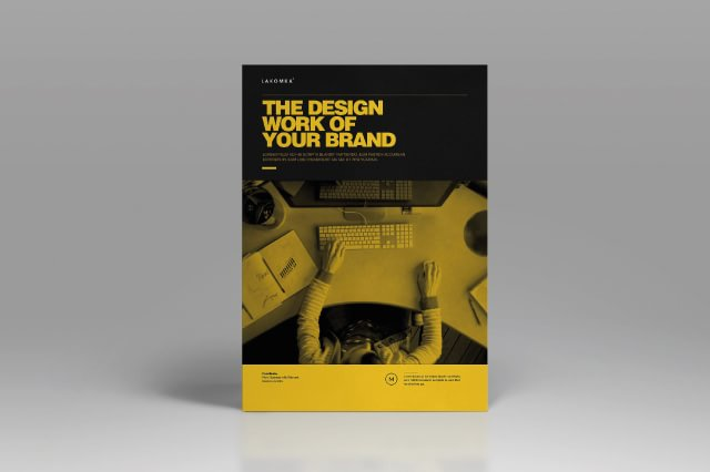 Studio Brochure Template – Boris Vargas – Graphic Design