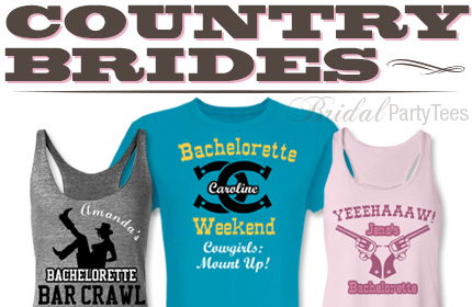 Western Wedding Shirts Country Bride Thumbnail