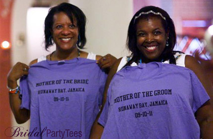 Mother of the bride shirts featured