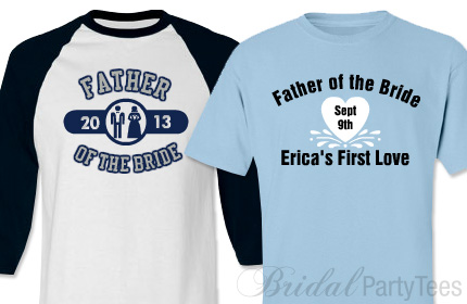 Father of the Bride Shirts