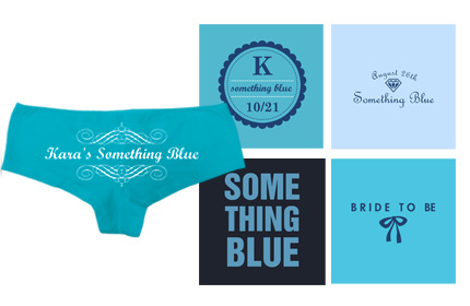 Something Blue for the Bride Preview