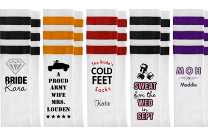 Custom Knee High Socks