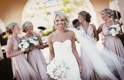 Bridesmaids in the wedding thumbnail