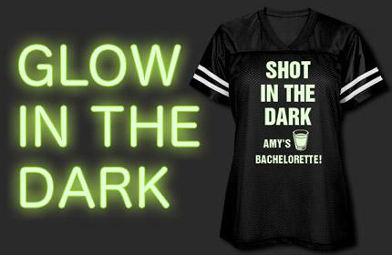 Glow In The Dark Bachelorette Shirts