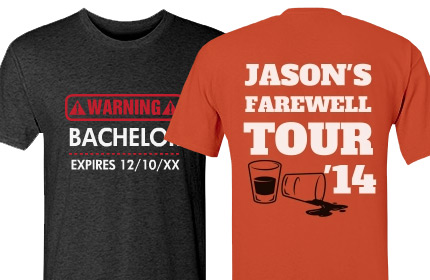 Bachelor Party Shirts