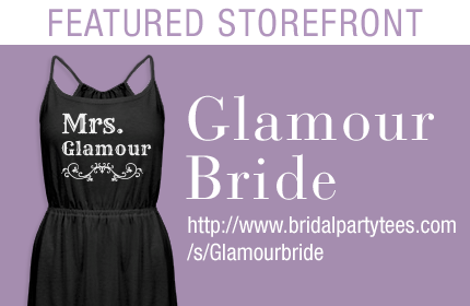 Glamour Bride Custom Apparel Storefront