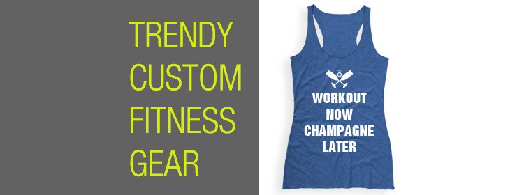 Fitness Tanks For Brides