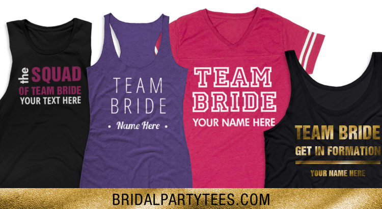 Team Bride Shirts