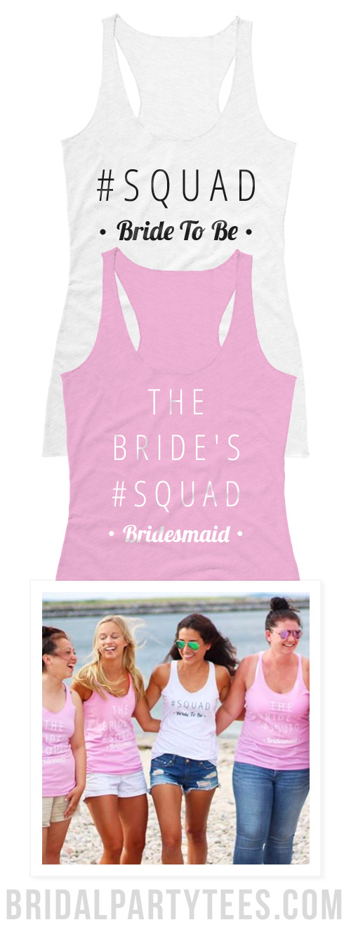 The Bride's Squad Shirts