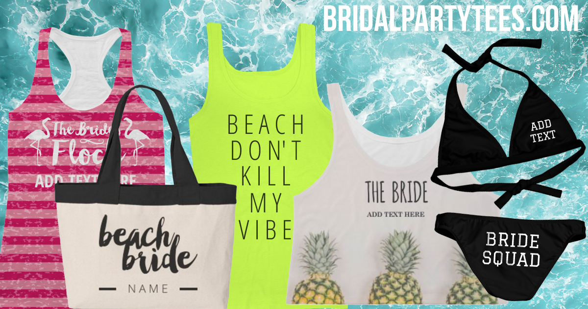 Beachy Bachelorette Party Shirts