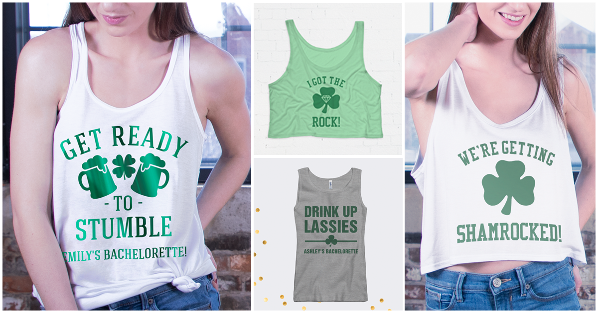 12a8af866 St Patricks Day Bachelorette Party Shirts - Bridal Party Tees