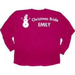 Christmas Bride Jersey
