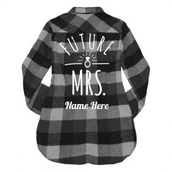 Future Mrs. Ring Custom Name Gift