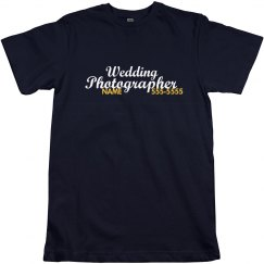 Wedding Photographer Name
