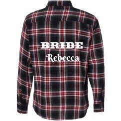 Bride Flannel Shirt