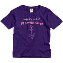 Picked Flower Girl