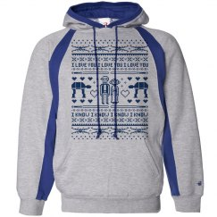Mother Bride Xmas Hoodie