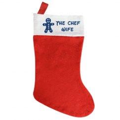 Chef Wife Santa Hat
