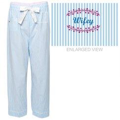 Wifey Flannel Pajamas