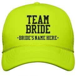 Custom Team Bride Yellow