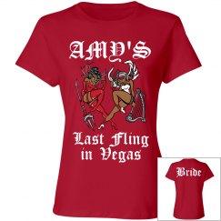 Amy's Custom Last Fling in Vegas