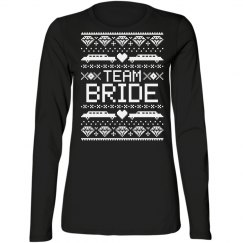 Team Bride Ugly Christmas