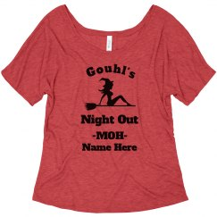 Ghouls Night Out Halloween Bachelorette Scary