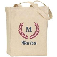 Monogram Bride Wedding Bag