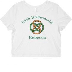 Irish Bridesmaid Tank Top