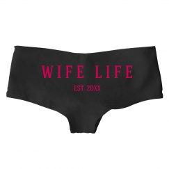 Wife Life Wedding Date