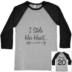 """""""For Him"""" Engaged Couple Shirt"""