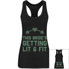 Bride Squad - Bride to be training tank top