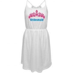 Bridesmaid Strappy Dress
