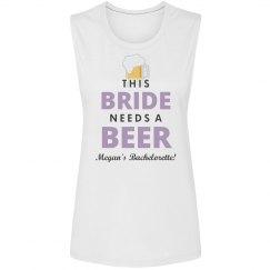 Bride Needs A Beer