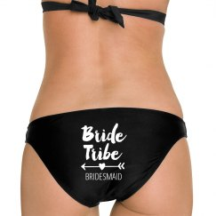 Bride Tribe Bridesmaid Bikini