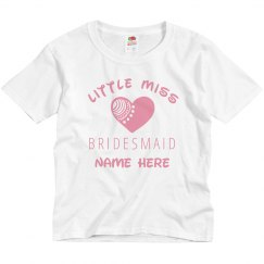 Little Miss Bridesmaid