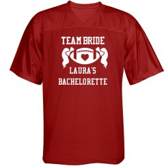 Team Bride Football Bachelorette