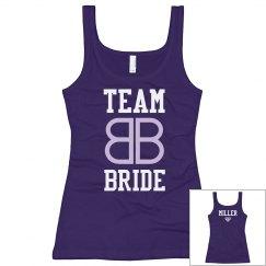 Team Miller Bride Logo