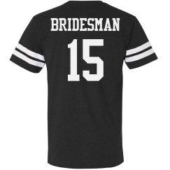 Bridesman Custom Number