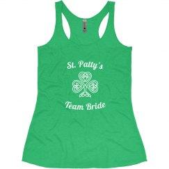 St. Patty's Team Bride