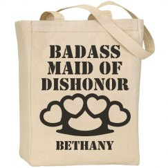 Badass Maid of Dishonor