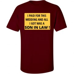 All I Got Was a Son In Law