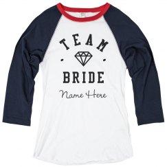 Custom Team Bride Diamond