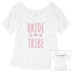 Bride Tribe - Custom Maid of Honor Back