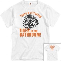 Vegas Bathroom Tiger
