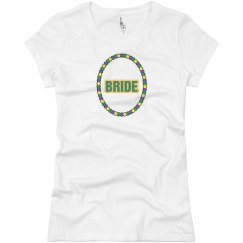 Mardi Gras Bride Tshirt
