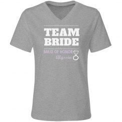 Purple Team Bride MOH